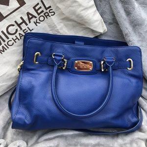 Michael Kira East West Royal Blue Hamilton Bag